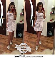 Женское модное легкое платье-туника
