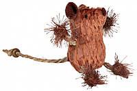 Игрушка Trixie Mouse для кошек с канатиками, 8 см