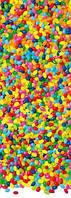 Фотообои в детскую для дверей Цветные леденцы