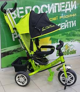 Велосипед 3-х колісний AZIMUT LAMBORTRIKE BC-17B-FOAM салатовий