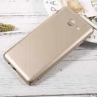 Мягкий чехол-накладка IPAKY для Samsung Galaxy J520 Золотой, фото 1