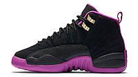 Женские кроссовки Nike Air Jordan 12 Retro GG Hyper Violet