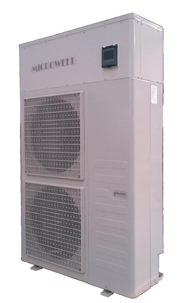 Тепловий насос MICROWELL HP2000 Compact