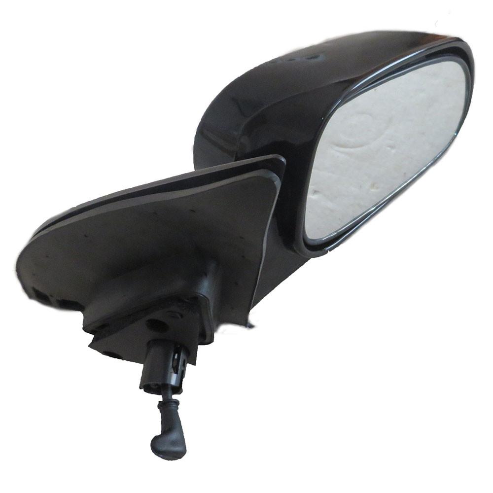 Зеркало наружное механическое Lacetti / Лачетти правое черное глянец, 96615018