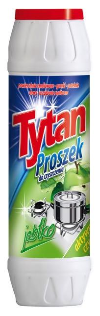 Порошок для чищення посуду та каструль Tytan яблоко 500 г.