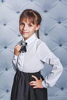 Рубашка школьная для девочки белая