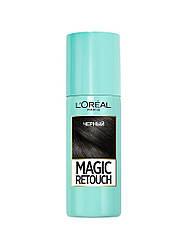 Тонирующий спрей для волос L'Oreal Paris Magic Retouch, оттенок Черный