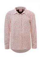 Рубашка для девочек оптом, Glo-story, 98-128 см,  № GCS-3691, фото 1