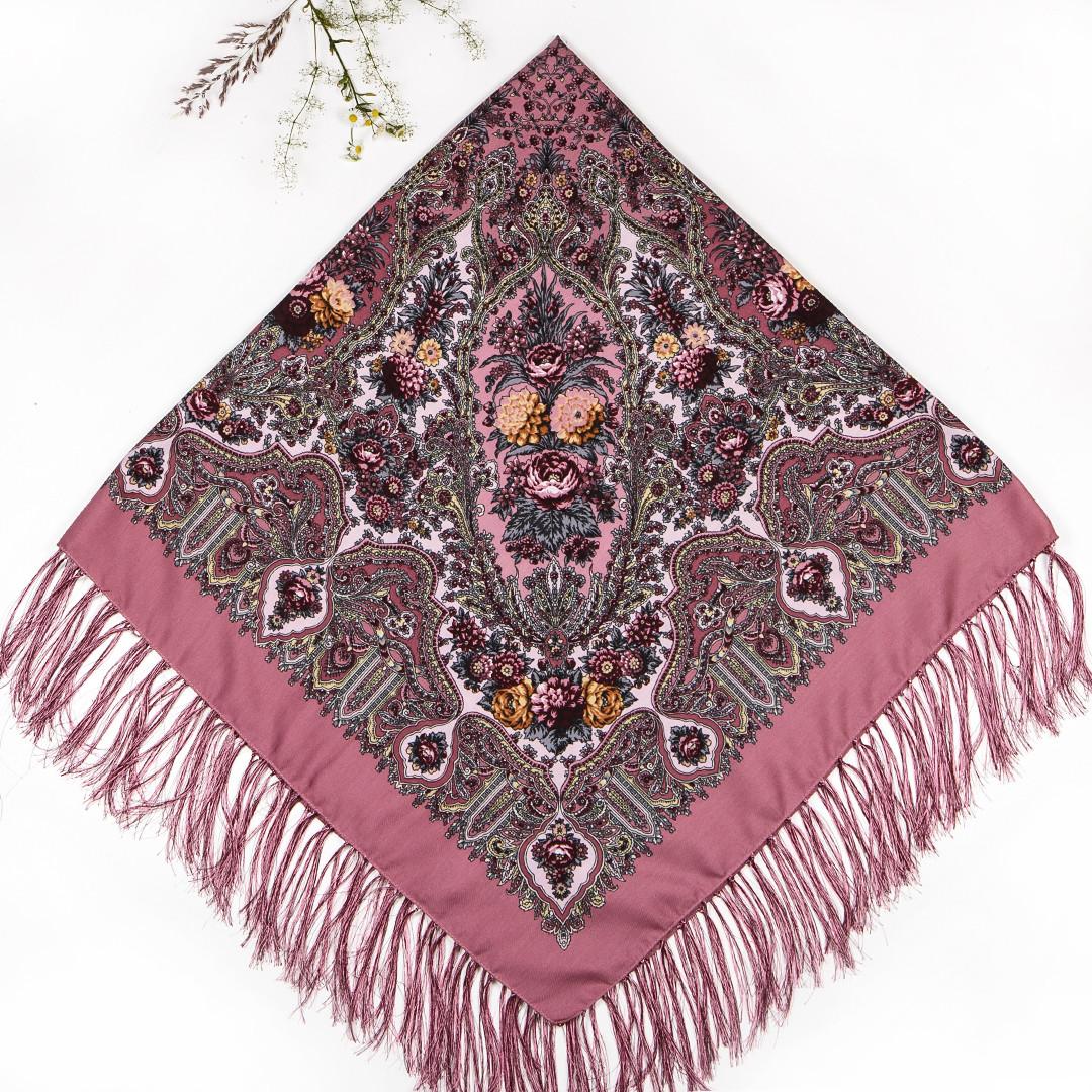 Павлопосадский платок Рубина