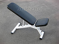 Скамья атлетическая многофункциональная с регулировкой угла спинки и сидушки