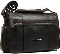 """Мужская сумка через плечо с отделением для ноутбука 15"""" Piquadro Link, CA1592LK_TM коричневый"""