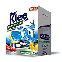 Таблетки для посудомоечных машин Herr Klee Geschirrspuler-Tabs Lemon 30 шт.