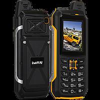 IMan S2, IP68, 2200 мАч, FM, 2 SIM, усиленная антенна, большой фонарик, противоударный, водонепроницаемый