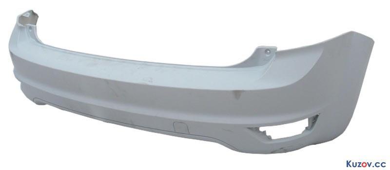 Задний бампер Ford Focus II 08-11 Хетчбек, грунтов., без парктроника (