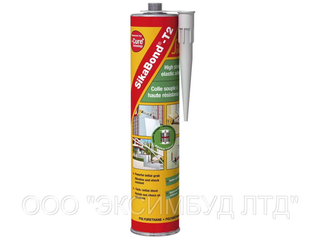 Высокопрочный клей для приклеивания подоконников, ступеней, плинтусов, пенобетона, керамики SikaBond-T2 300