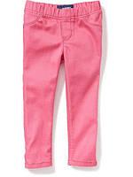 Детские розовые джегинсы Old Navy для девочки