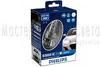 Светодиодные автомобильные лампы головного света PHILIPS H7 12985BWX2 X-treme Ultinon +200%
