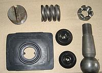 Ремкомплект наконечника продольной тяги (полный) передней оси ЮМЗ