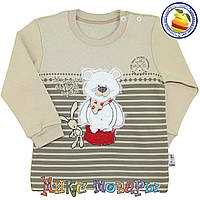 Детский Батник в полоску для мальчика от 1 до 4 лет (vn3541-2)