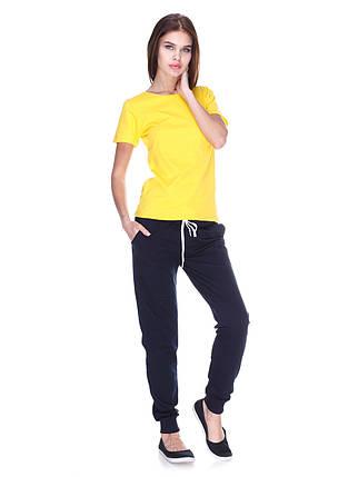 Футболка жіноча, жовта, фото 2