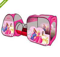"""Детская игровая палатка с тоннелем Bambi """"Принцессы"""" (М 2959)"""