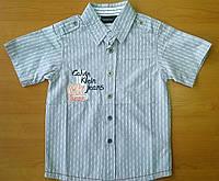 Брендовая рубашка Calvin Klein летняя для мальчика