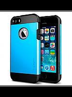 Бампер для iPhone 4/4S - SGP Slim Armor, синий