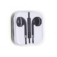 Гарнитура HI-FI IPHONE 5 EARPOD NEW LINE черно-стальная