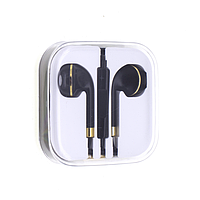 Гарнитура HI-FI IPHONE 5 EARPOD NEW LINE черно-золотая