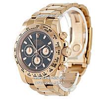 Часы Rolex Daytona Cosmograph Chronometer Gold/Black. Replica: AAA, фото 1