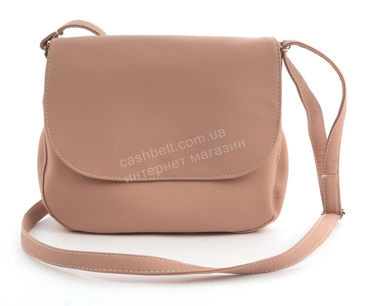 99030c6784b4 Аккуратная женская стильная сумка почтальонка Габриэлла art. розовая Sg  Украина (100092) - Ремешок