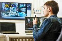 Установка видеонаблюдения на предприятиях