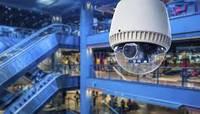 Установка видеонаблюдения в торговых центрах