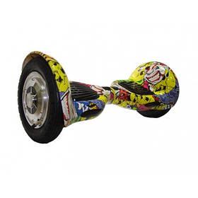 Гироскутер Smart Balance Wheel граффити белый 10 дюймов