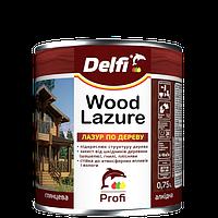 """Лазури для дерева ТМ """"DELFI"""" красное дерево - 0,75 л"""