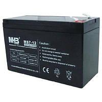 Aккумулятор AGM 7Ач 12В, необслуживаемый герметичный, модель MS7-12