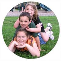 Коврик для мыши с вашим изображениями (круг 200х5 мм.), фото 1