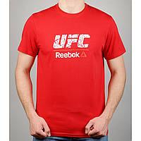 Футболка мужская REEBOK UFC 20970 красная