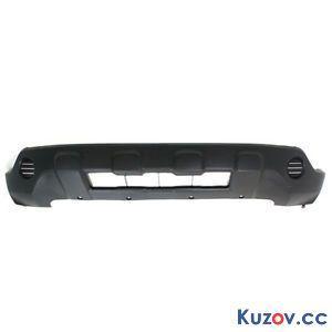 Передний бампер Honda CR-V 06-12 нижняя часть, без ПТФ (литая заглушка