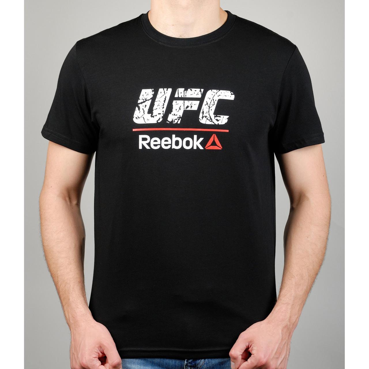 Футболка мужская REEBOK UFC 20971 черная