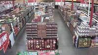 Установка видеонаблюдения в супермаркетах
