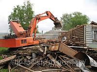 Демонтажные работы, услуги демонтажа строений , снос стен, перегородок, снос домов