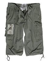 Шорты-бриджи мужские 100% хлопок MilTec Olive 11410001