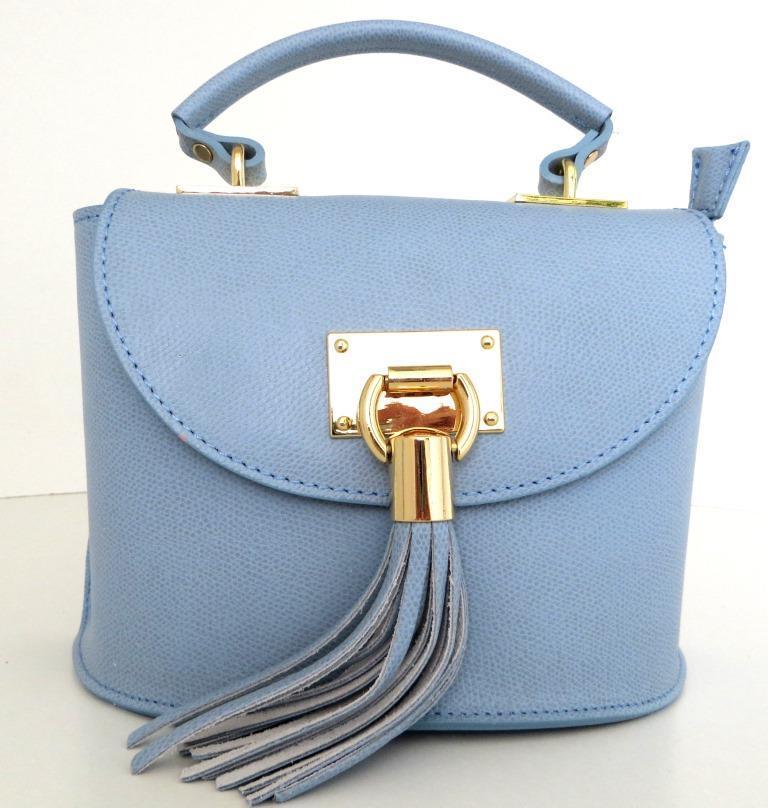 a03e21dc836a Жіноча маленька сумочка . Італія 100% натуральна шкіра . Голуба ...