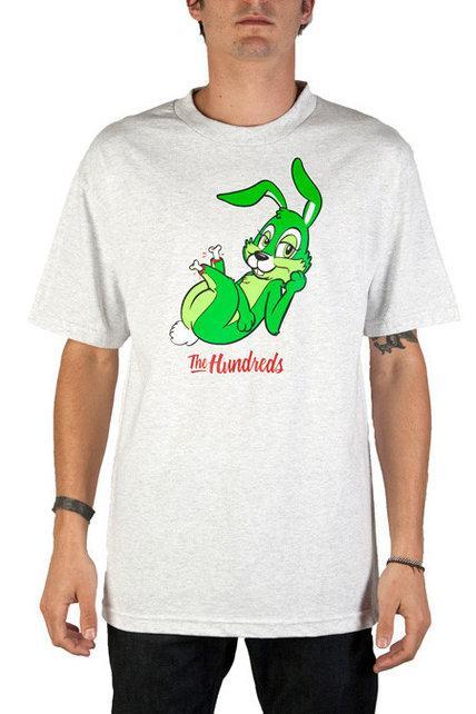 Футболка с принтом The Hundreds Rebbit
