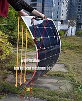 Solarparts полугибкая сворачиваемая солнечная модульная панель 100 Ватт