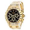 Часы Rolex Daytona gold/black (Механика). Replica: AAA