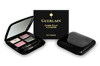 Тени для век Guerlain ombre eclat 4 colours (черная коробка)