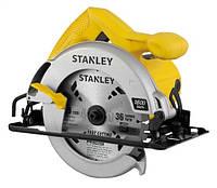Пила дисковая ручная 1600Вт, диск Ø-185/16мм, угол уклона 0-45 ° глубина реза 62-46мм STANLEY STSC1618