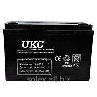 Аккумулятор гелевый UKC 12v - 100 Am/H